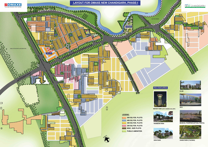 Omaxe New Chandigarh - Plots